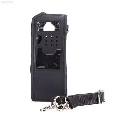 63A8 Lengthened Case Cover Protector For Baofeng UV5R Walkie Talkie w/Strap Anti