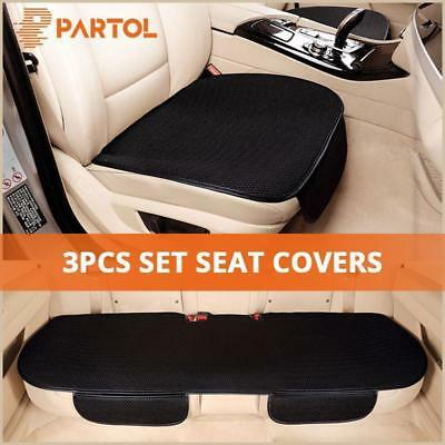 Universal Car Front Rear Seat Pad Cover Head Rest Full Sets Protector Breathable