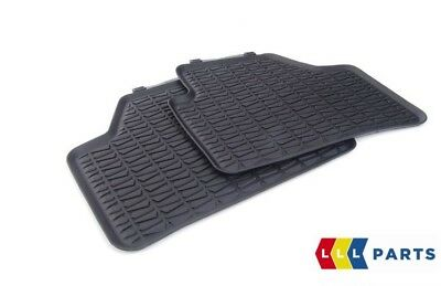 Bmw New Genuine X1 Series E84 All Weather Rubber Floor Mats Rear Pair 2336795