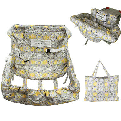 Twins Baby Kids Child Shopping Trolley Cart Pad High Chair Cover Protector Mat