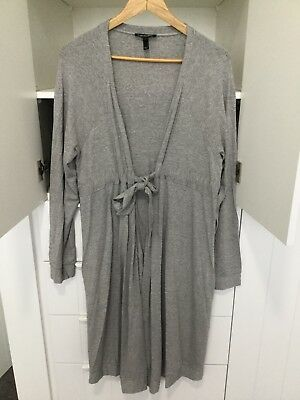 Loungewear Isabella Oliver Grey Cardigan Size L Maternity