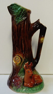 Retro C1950 Withernsea, Eastgate Pottery Stag Jug / Vase, In Excellent Condition