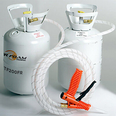 Tiger Foam 200bd/ft Closed Cell E-84 Spray Foam Insulation Kit - FREE SHIPPING