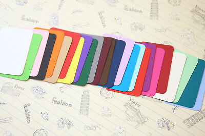 Papermill Colour Business Cards blank wedding name place cards pocket letters