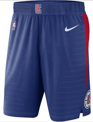 SALE €100 Nike Aeroswift NBA LA Clippers Blue Icon Ed Authentic Shorts 46 XXL