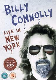 Billy Connolly - Live In New York (DVD, 2005)D0458