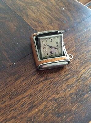 Art Deco Small Travelling/Desk Clock