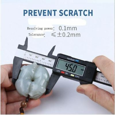 150MM/6inch LCD Digital Electronic Vernier Caliper Gauge Micrometer Ruler Tool L