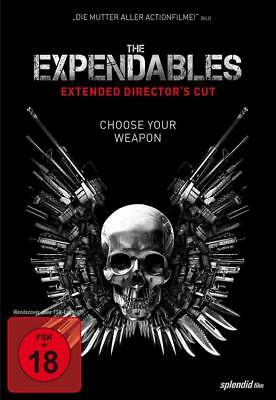 The Expendables 1 [Director's Cut] Sylvester Stallone  DVD/NEU/OVP  FSK18