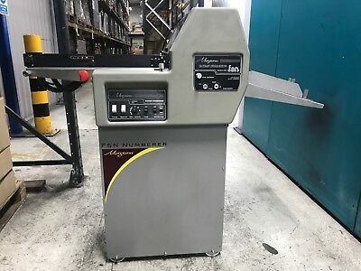 Morgana FSN Numbering and Perforating Machine complete with lot's of extra's