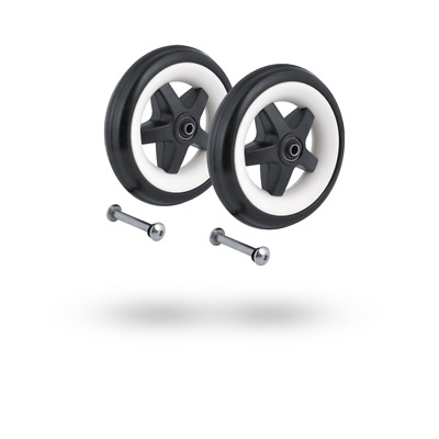 Bugaboo Bee 3 Pushchair / Stroller / Buggy Rear Wheels Replacement Set