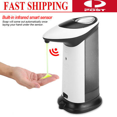 Smart Automatic Soap Sanitizer Dispenser Infrared Sensor Touch-free Bathroom New