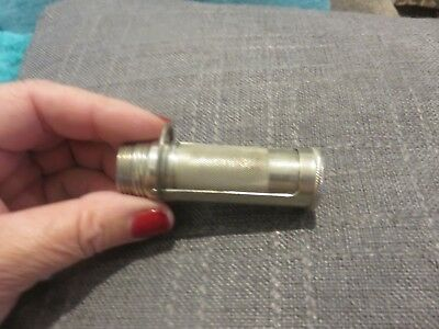 ANTQ 1900 Pat'd Marbles Gladstone Mich Flip Top Match Holder Safe Military?
