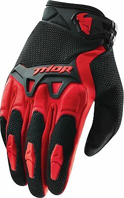 Thor Spectrum Gloves Red Adult Motocross Mx Bmx Mtb Mountain Bike Cheap Off Road