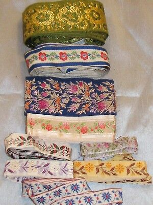 Lovely Vintage Lot of Sewing Trim Ribbon Craft Art Flowers