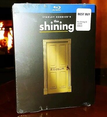 The Shining (Blu-Ray, Limited Edition) Steelbook-Brand New & Sealed