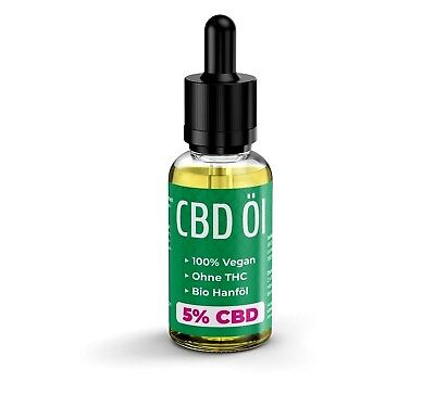 Premium Hanföl 10ml BIO Hempoil 5%CBD KDM Liquids 100% Made in Germany