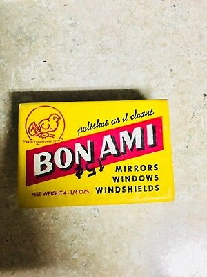 Vintage Bon Ami Cleaning Cake TWO 4oz Soap bars Unopened Original Packaging