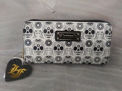 Authentic Disney Parks Loungefly Sugar Skull Wallet New with Tags