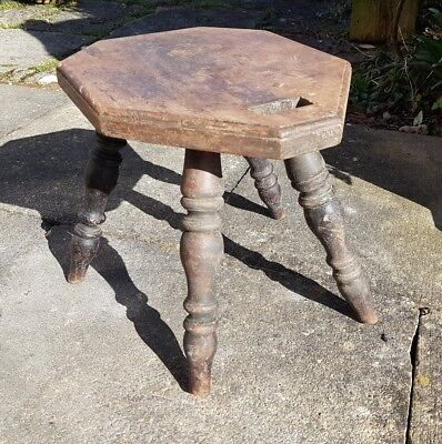 antique spinning stool