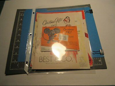 "Lot 4 Vintage 1959-67 ""best & Co.""- Fall-Winter-Christmas Catalogs- New York, Ny"
