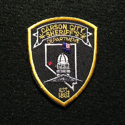 Nevada - Carson City Sheriff's Department SMALL Patch / NV State Capital