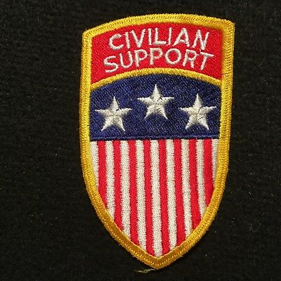 US Army Civilian Support Patch
