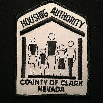 Nevada - Housing Authority County Of Clark Patch /  Police Las Vegas NV HUD