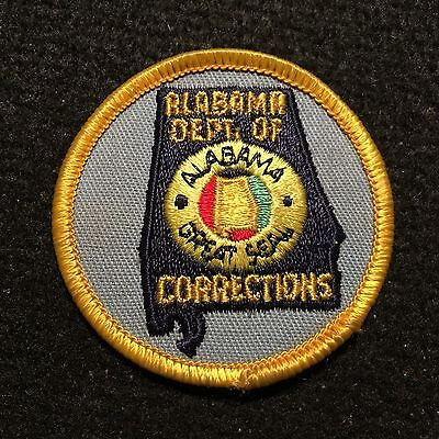 Alabama Department Of Corrections SMALL Patch / Police Jail Guard Prison