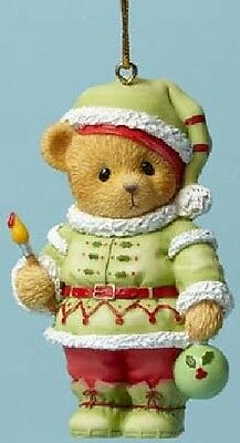 Cherished Teddies - It's A Homemade Kind Of Holiday - Elf Ornament -  #4047387