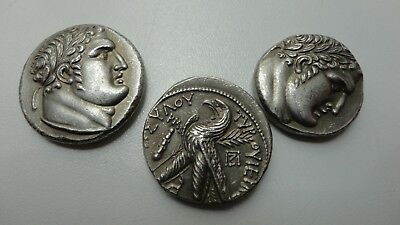 Repro Ancient Coins Palestine Tyre Shekel 3pcs The Bible Judas Free  Shipping