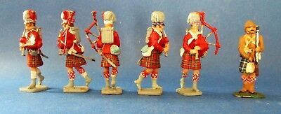 Waterloo Pipers & 1900 Cameron Highlander by Imrie-Risley Miniatures