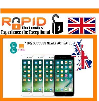 Unlocking Service For Ee Uk Under 6 Months Iphone 5 5S 6 6 6S 7 7 Plus