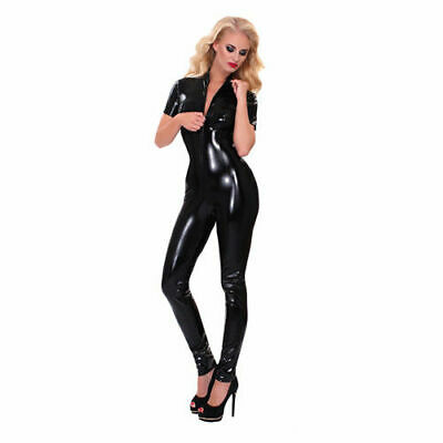 Guilty Pleasure GP Datex Catsuit Reißverschluss Damen Latexkleidung