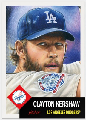 2018 Topps Living Set 95 Clayton Kershaw Dodgers