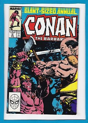 "Conan The Barbarian Giant-Sized Annual #_1987_Very Fine+_""legion Of The Dead""!"
