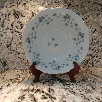 Johann Haviland Blue Garland Bavaria Germany Round Vegetable Serving Bowl  VTG