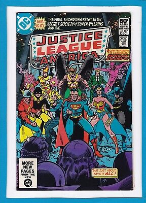 Justice League Of America #197_December 1981_Very Fine Minus_Justice Society!