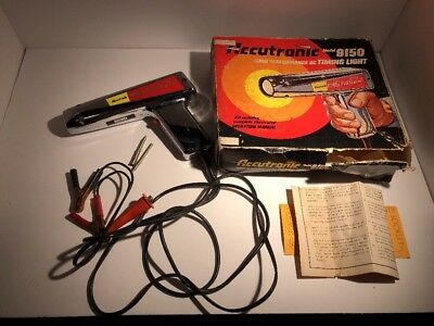 Vintage Accutronic TIMING LIGHT MODEL 9150