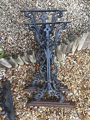 Cast Iron Table Legs Black