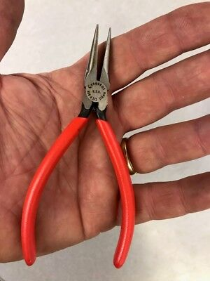 """Crescent 4.5"""" Needle Nose Pliers 666-4 1/2, MADE IN USA"""