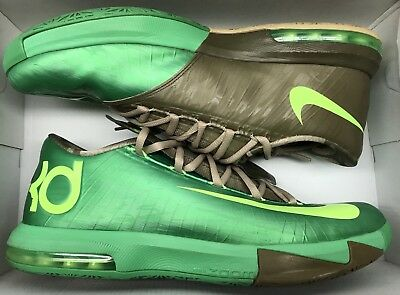 1fb279c85c38 NIKE KD VI 6 BAMBOO 11.5 US Gamma Green Aunt Pearl What The MVP ...