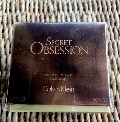 Profumo Donna Secret Obsession Calvin Klein Eau De Parfum  50 Ml Edp Ck