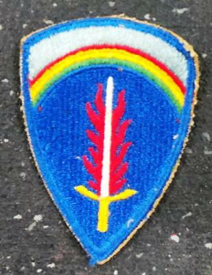 Authentic WW2 US Army SHAEF Supreme Headquarters Allied Exped. Force Patch