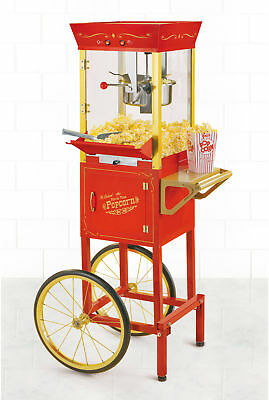 Nostalgia 53-In. Vintage Collection 6-Oz. Kettle Commercial Electric Popcorn