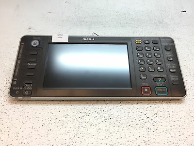 Ricoh Aficio MP C4502 LCD Touch Screen Control Panel Assembly R733-71 D1441411B