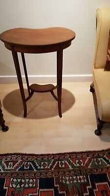 Vintage Edwardian Kidney Shaped Table