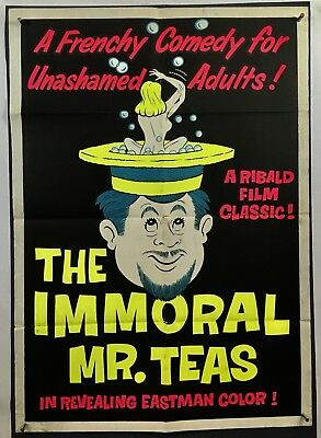 IMMORAL MR. TEAS Movie Poster (VeryGood) One Sheet '59 30x42.5 Russel Meyer 1245