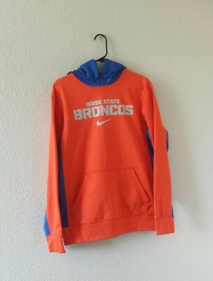 80adf1e53 Nike Therma Fit Boise State Broncos pullover hoodie sweatshirt men s size  small
