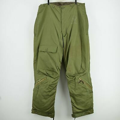 Rare Vintage 1940s WWII USAAF A-9 Alpaca Lined Flight Pant Trousers 38